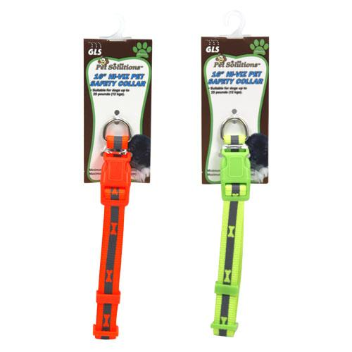 "Wholesale 16"" HI-VIZ PET SAFETY COLLAR"