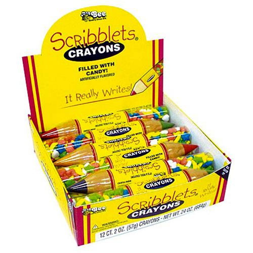 Wholesale Scribblet Crayon with Candy in CD
