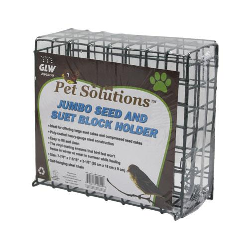 Wholesale Jumbo Block Holder for Seed or Suet feed.