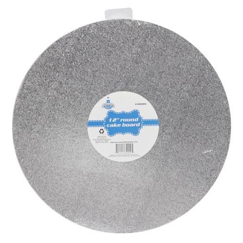 "Wholesale 12"" ROUND CAKE BOARD"
