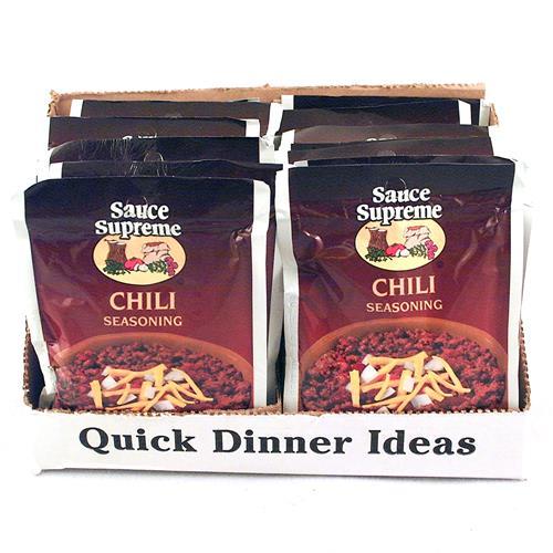 Wholesale Sauce Supreme Chili Seasoning Mix