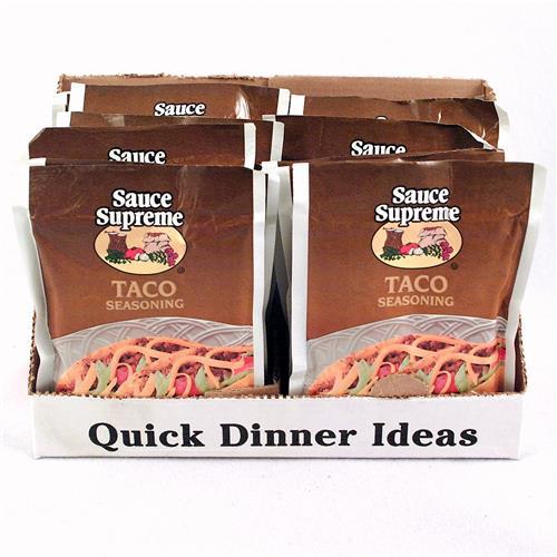 Wholesale Sauce Supreme Taco Seasoning Mix