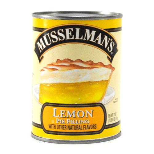 Wholesale BEST BY DATE 11/11/18 -Musselman's Lemon Pie Filling
