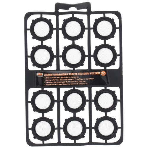 Wholesale 12pc HOSE WASHERS w/ SCREEN FILTER