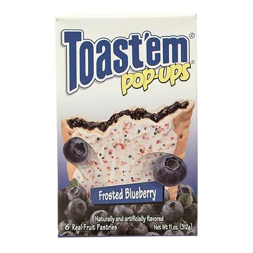 Wholesale Toast'em Pastry Tart Blueberry