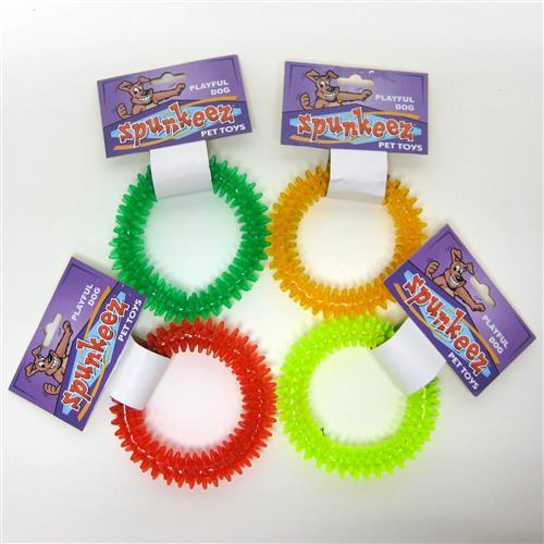 Wholesale Spunkeez PVC Spike Ring 4.5""