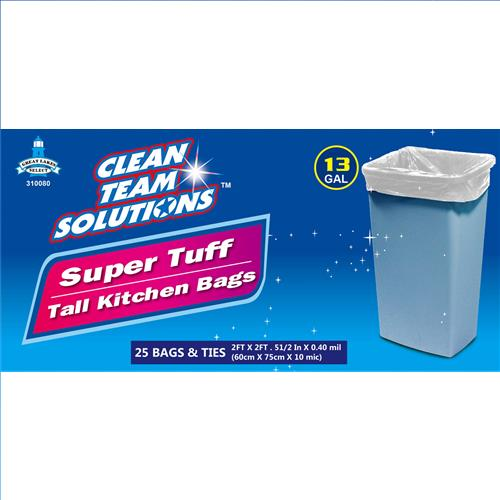 Wholesale Super Tuff Tall Kitchen Bags 13 Gallon