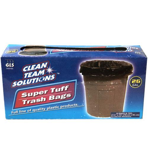 Wholesale Super Tuff Trash Bags 26 Gallon