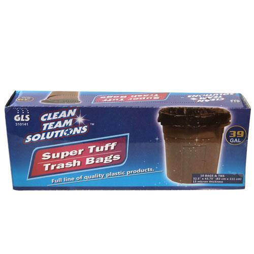 Wholesale Super Tuff Trash Bags 39 Gallon Twist Tie