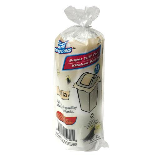 Wholesale Super Tuff Vanilla Tall Kitchen Bag 13 Gallon