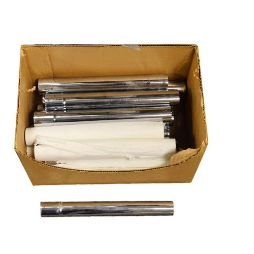 """Wholesale 12""""x1.5"""" DRAIN EXTENSION TUBE CHROME PLATED"""