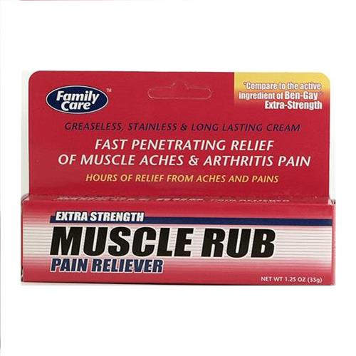 Wholesale Family Care Extra Stength Muscle Rub Pain Reliever Cream (Ben-Gay)