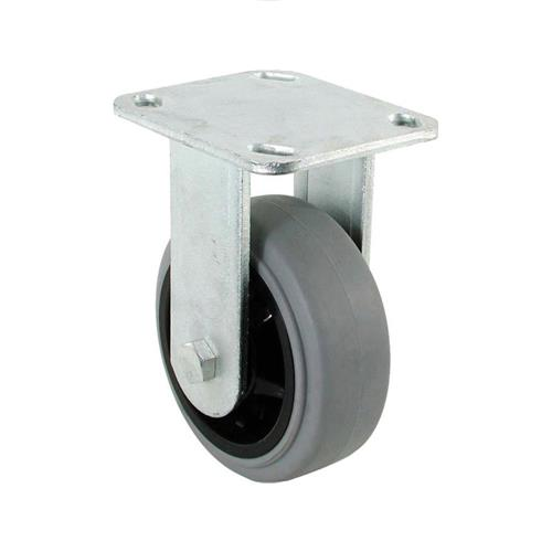 "Wholesale 4"" RIGID CASTER GREY TPR WHEEL 300LB"