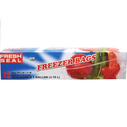 "Wholesale Fresh Seal Gallon Freezer Bag ""Ziploc"""