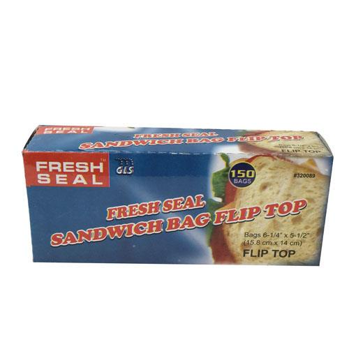 Wholesale Fresh Seal Sandwich Flip Top Bag