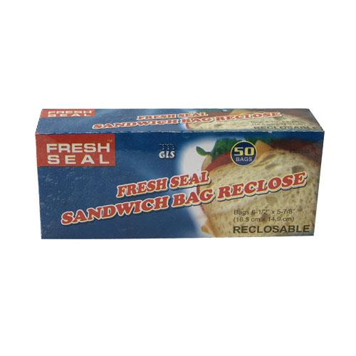 Wholesale Fresh Seal Sandwich Bags Reclosable