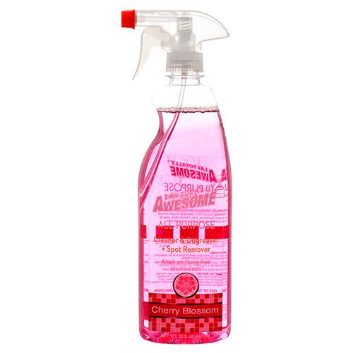 Wholesale use #162A 32oz CLEANER/DEGREASER/SPOT SPRAY CHERRY BLOSSOM