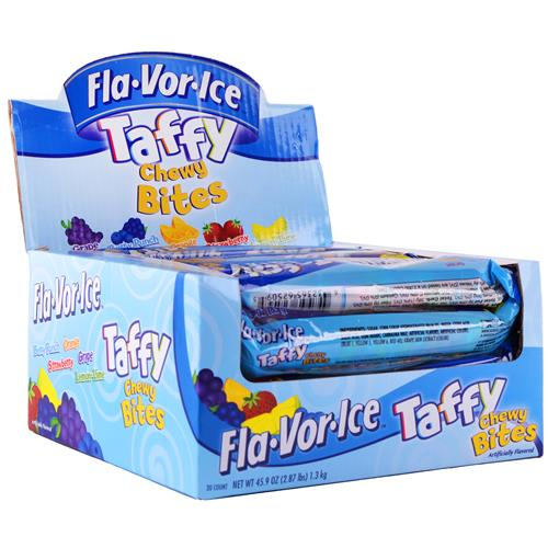 Wholesale Flavorice Taffy Chewy Bits Assorted Flavors in CD