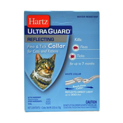 Wholesale Hartz UltraGuard Reflecting Flea & Tick Collar For Cats and Kittens