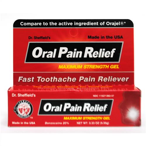 Wholesale Sheffield Oral Gel - Adult