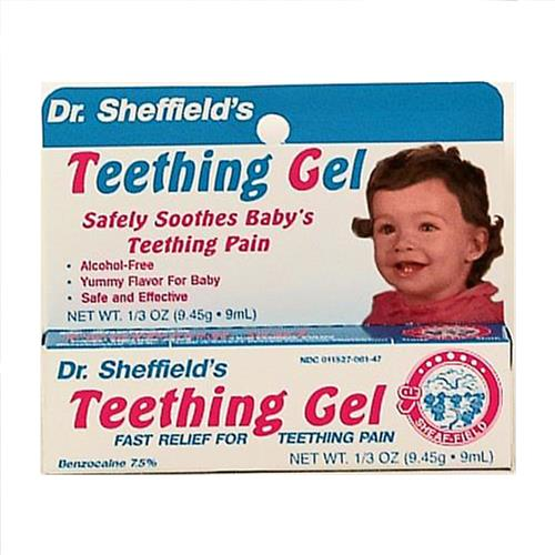 Wholesale Sheffield Baby Teething Gel