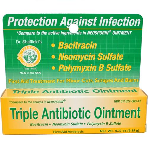 Wholesale Dr. Sheffield Triple Antibotic Ointment (Neosporin