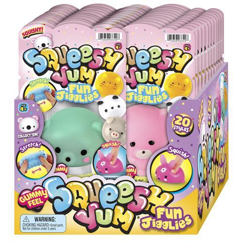 Wholesale Squeesh Yum Fun Jigglies