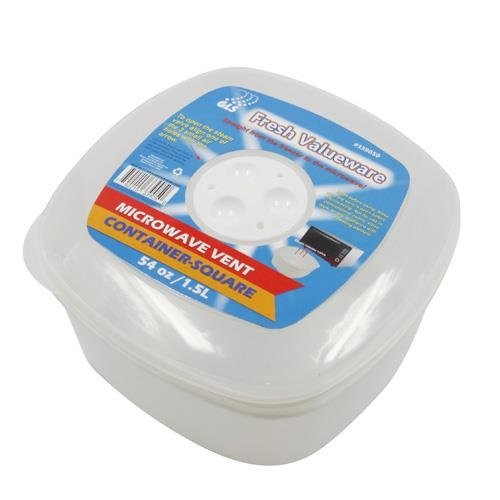 Wholesale MICROWAVE VENT CONTAINER -SQ