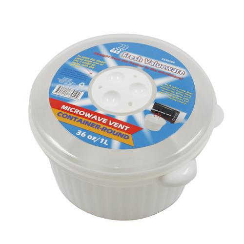 Wholesale MICROWAVE VENT CONTAINER-ROUND