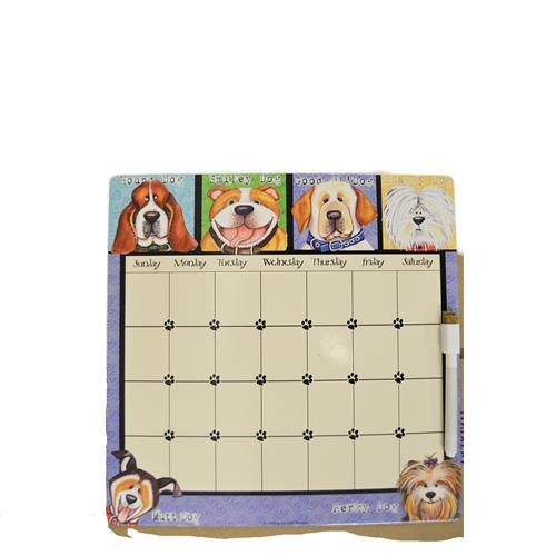 Wholesale DRY ERASE BOARD & MARKER -DOGS THEMED