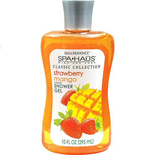 Wholesale 10oz Spa Haus Shower Gel Stawberry Mango