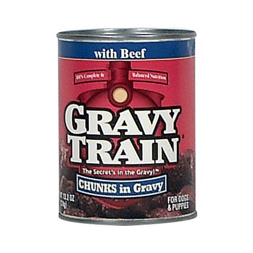 Wholesale Gravy Train Dog Food - Chunk Gravy - Beef