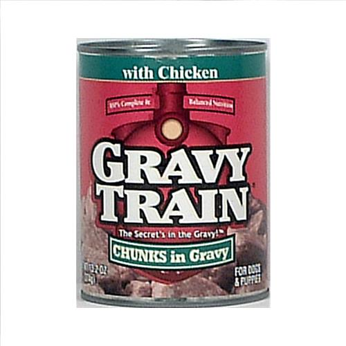 Wholesale Gravy Train Dog Food - Chunk Gravy - Chicken