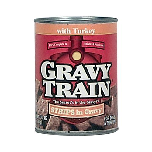 Wholesale Gravy Train Dog Food - Strip Gravy - Turkey