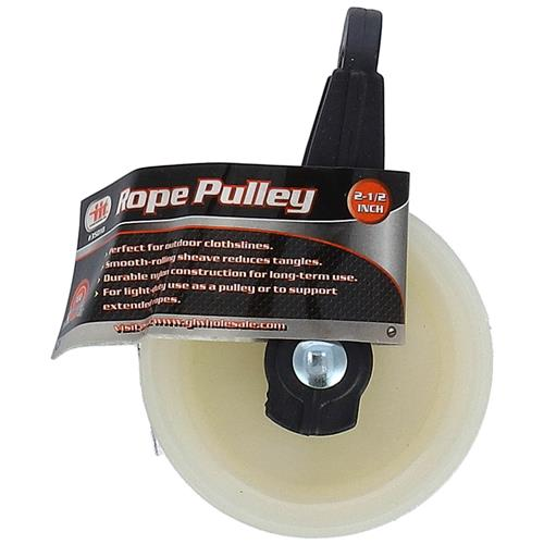 "Wholesale 2-1/2"" Rope Pulley"