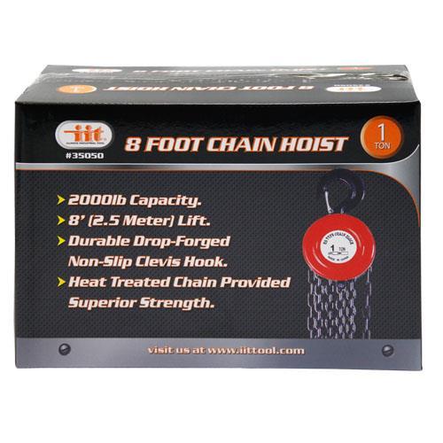 Wholesale 1 TON X 2.5M CHAIN HOIST