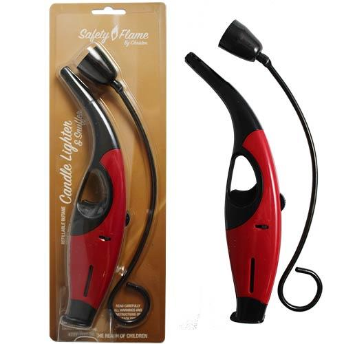Wholesale 2PC CANDLE LIGHTER & SNUFFER RED & BLACK