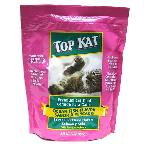 Wholesale Top Kat Ocean Fish Cat Food Pouch