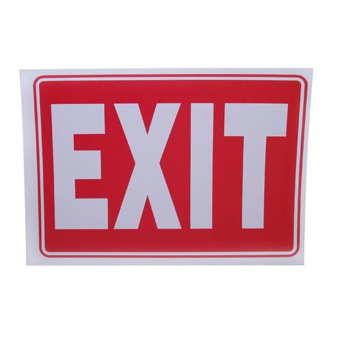 "Wholesale 9"" x 12"" EXIT SIGN"