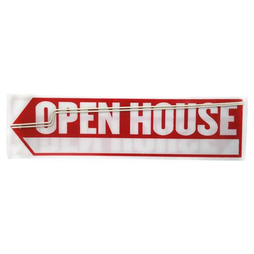 Wholesale OPEN HOUSE SIGN w/ ARROW