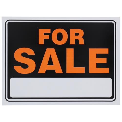 "Wholesale 9""x12"" FOR SALE SIGN- 2 COLOR"
