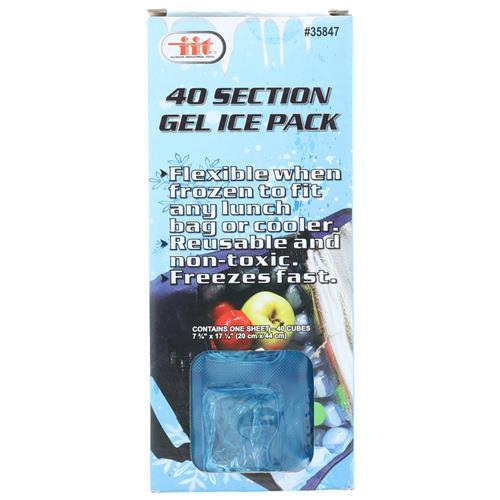 Wholesale COOLER PLASTIC ICE SHEET FREEZE & REUSE 40 SECTION