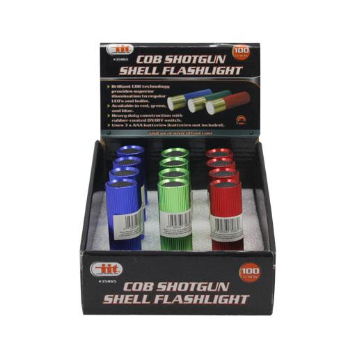Wholesale COB Shotgun Shell Flashlight