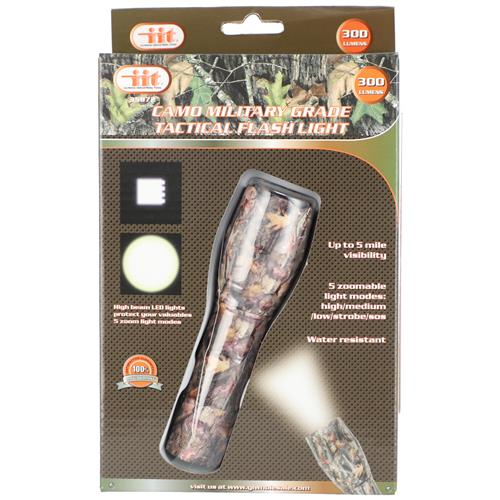 Wholesale CAMO MILITARY GRADE TACTICAL FLAHSLIGHT