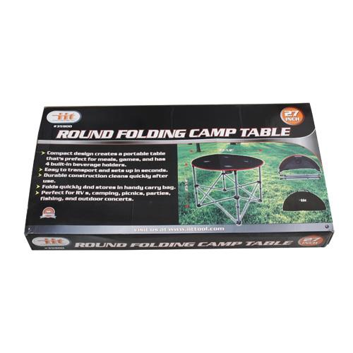 Wholesale ROUND FOLDING CAMPING TABLE