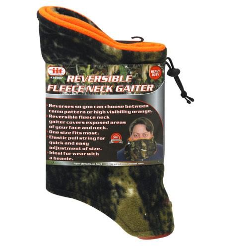 Wholesale REVERSIBLE FLEECE NECK GAITER