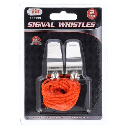 Wholesale 2pc SIGNAL WHISTLES