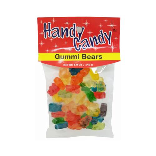 Wholesale HANDY CANDY GUMMI BEARS 24 PER CASE 5 OZ BAG
