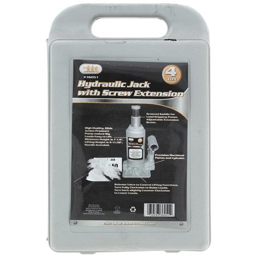 Wholesale 4 Ton Bottle Jack W. Case