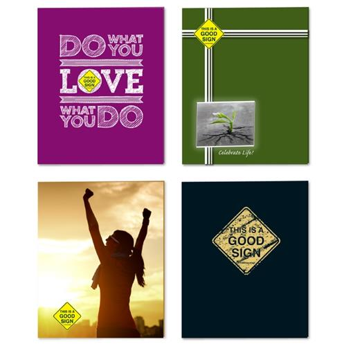 Wholesale 2 POCKET GOOD SIGN FOLDER -LAM